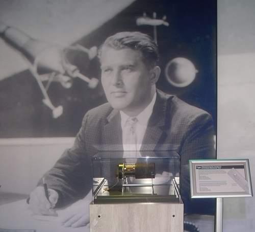 Wernher von Braun - from notebooks to Saturn-V