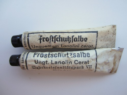 Mystery tubes from a conflict archaeology dig of a German WW2  camp in Finland
