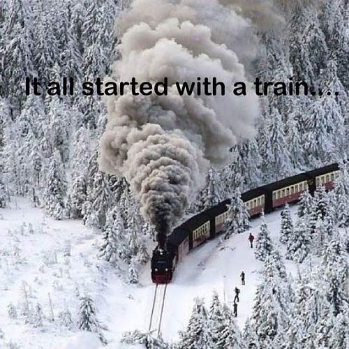 some one see german gold train?