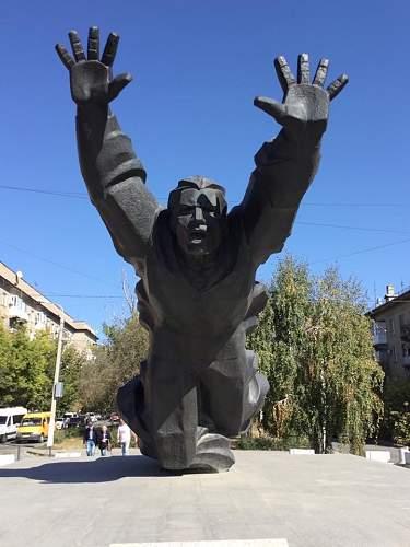 Monument to Mikhail Panikakha - Volgograd