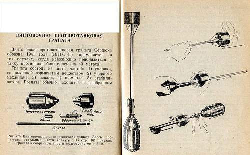 Red Army rifle grenade