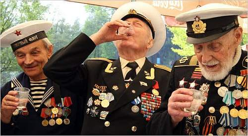 about Soviet Great patriotic war veterans