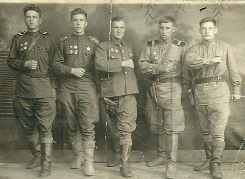 German and Soviet trophees
