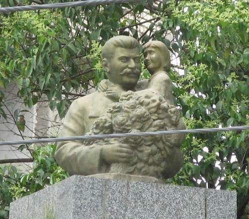 Stalin's monument alive