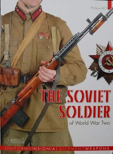 The Soviet soldier of WW2