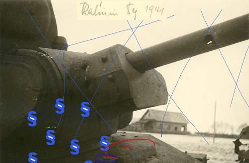 T-34  tank ram in1941 year. Interesting fate