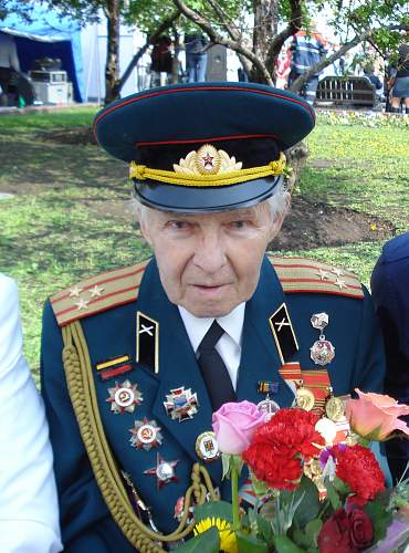Victory day in Moscow 2012 - the Veterans