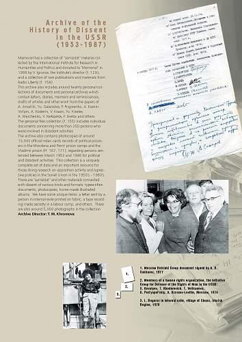 Memorial Society Archive
