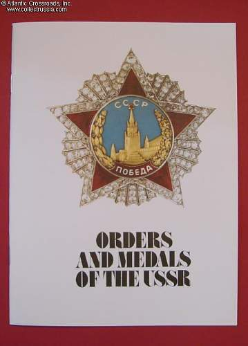 Soviet Badges & Medals Collecting Books Request