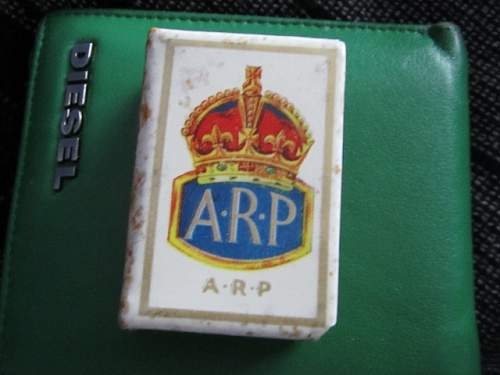 WW2 Britsh Home Front Matchbox Covers