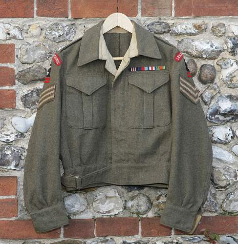 Leicestershire Regiment tribute display...