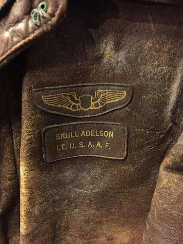 Skull Adelson - Lt USAAF