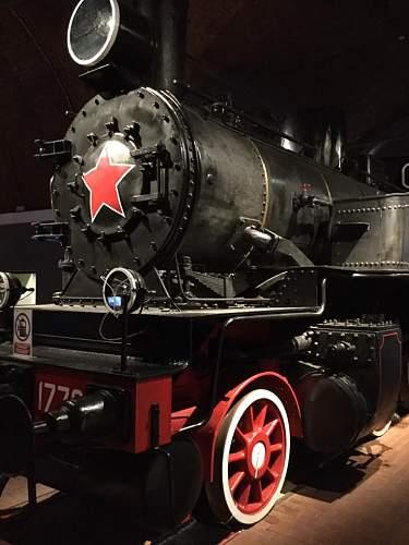 The Russian Railway Museum, St Petersburg