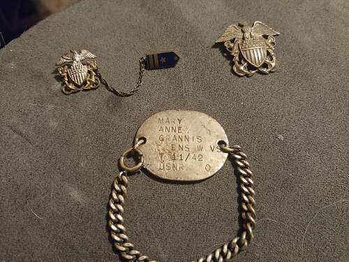 US Naval Reserve Dog Tag Info