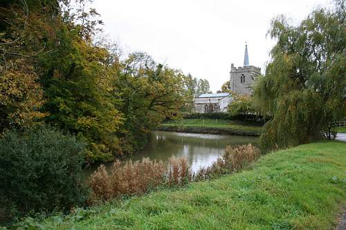 Click image for larger version.  Name:Anstey Moat and Church.jpg Views:203 Size:112.5 KB ID:149985