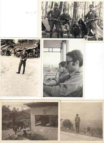 mY father during the war