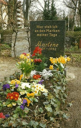 A Tribute to  Marlene Dietrich