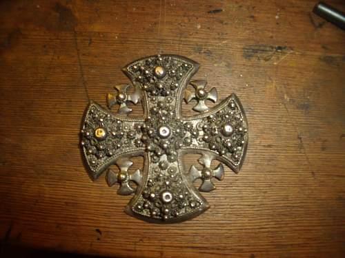 Need Help! maltese cross?