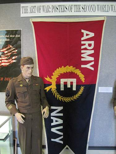 WWII exhibit I got to design