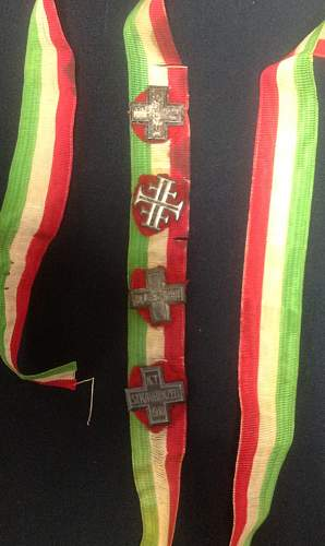 US Vets souvenir ribbon - Military or religous??