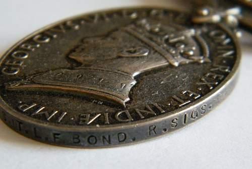 SGT. L. F. Bond, 53rd Welsh Div TA Div Signals
