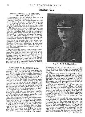 Lieutenant Colonel Malcolm Bromley Jenkins