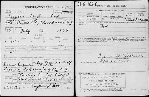 Research help on a ww1 and ww2 vet.