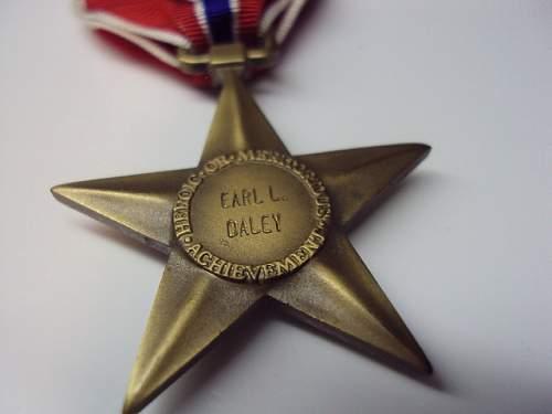 Ww2 bronze star research help