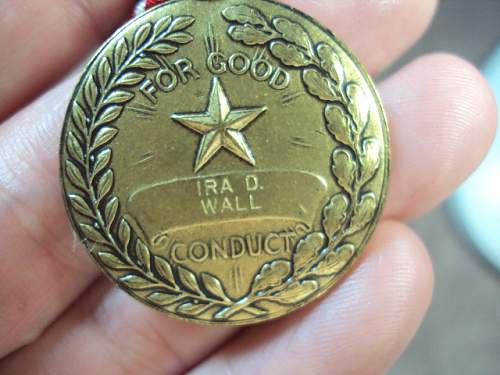 Ww2 good conduct medal research lot help please