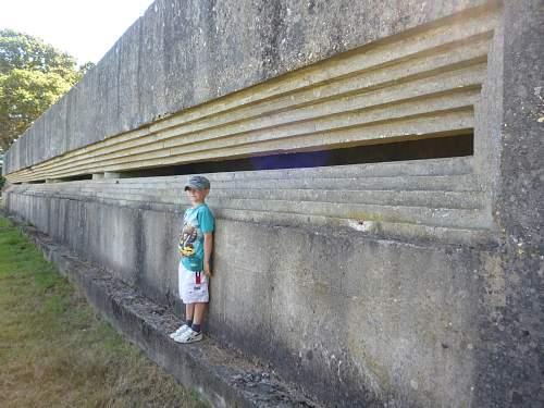 Fort Henry Redend point Studland Dorset.