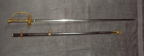 Indian war engraved sword research help