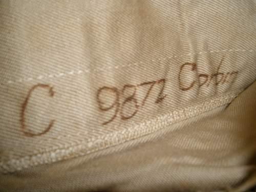 U.S. overseas cap - owner?