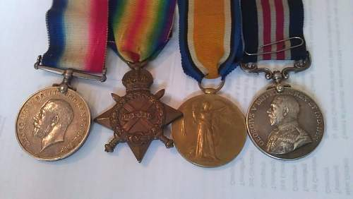 Researching a family friends ww1 military medal