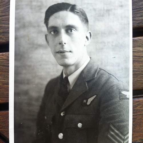 RAF navigator reaserch