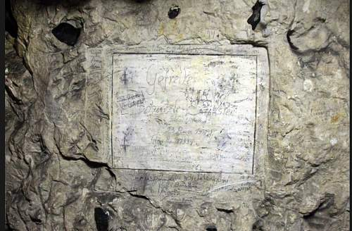 The names of 731 Anzacs found in cave under the WW1 battlefields of France