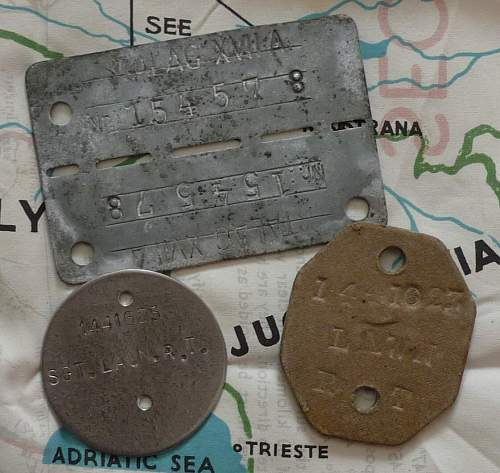 Dog Tags: Stalag VIIIB and other POW camps