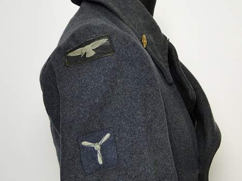 On the hunt! RAF Great Coat 1948