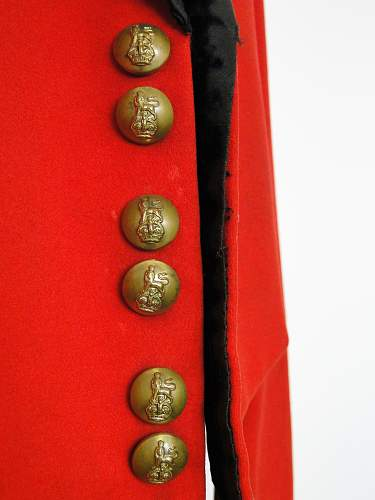 Help to identify name within mess dress dated 1935 (The Coldstream Guards)