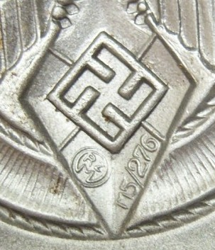 Newest Hitler Jugend buckle....with M5 designation