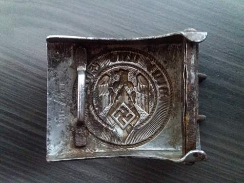 Steel Belt buckle HJ M4/110 original  or copy?