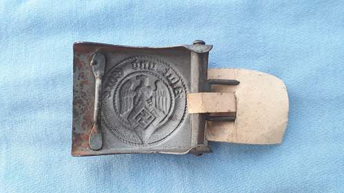 HJ steel buckle unmarked