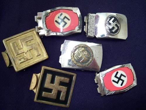 NSDAP Jugend / Sympathizer buckle