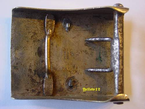 Two Piece DJ/HJ Buckles