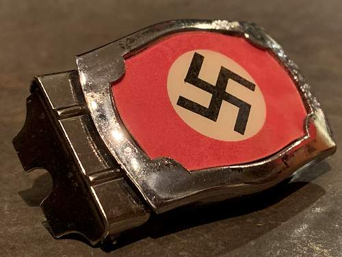 Early Jugend Buckle or NSDAP