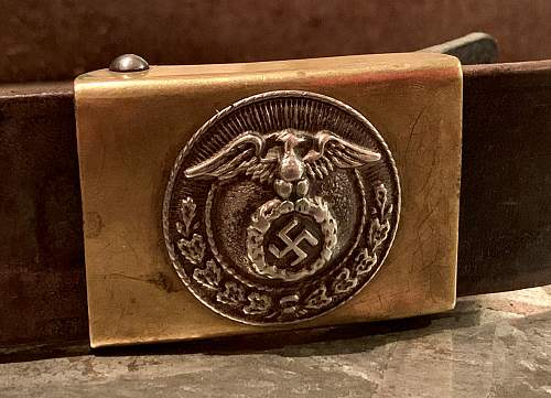 Deutsche Jungvolk Early Small Sized Variant Belt & Buckle