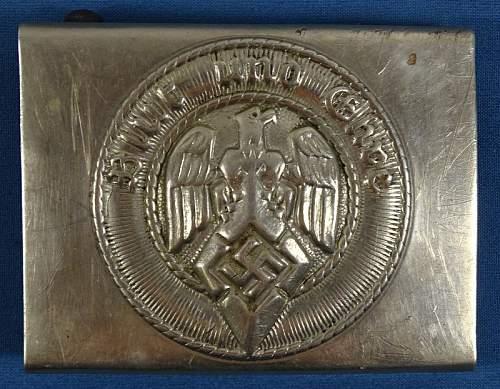 Hitler Jugend buckles (Early Timeline information)