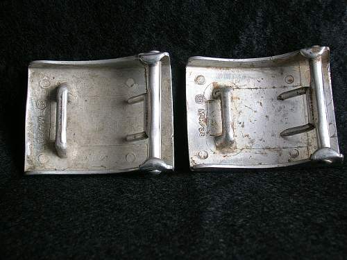HJ Buckles are they real or fake? Spot the differences.
