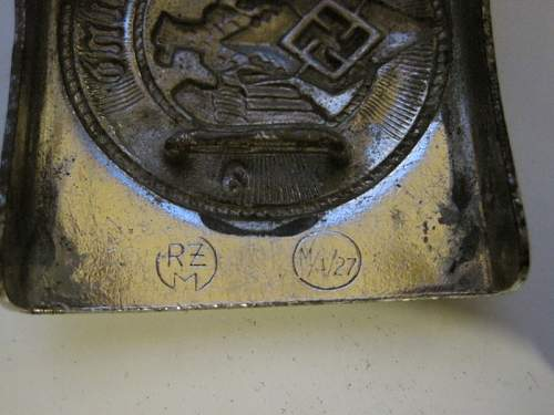HJ Belt Buckle RZM M4/27 Real or not