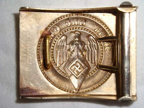 New HJ Buckle, A&S Ges Gesch marked