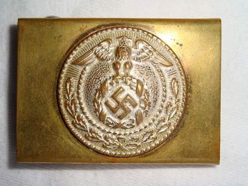 NSDAP Jugend Buckles